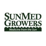 Sunmed Growers' 'medicine from the sun' logo