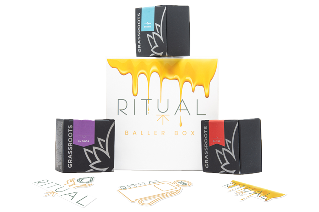 Ritual Baller Box' Indica Sativa Hybrid